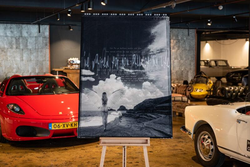 Kunstwerk I've Waited For You door Hans Petersen