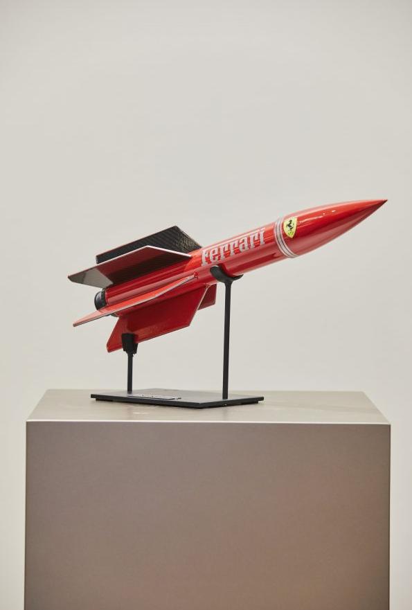 Ferrari rocket door Remy Aillaud