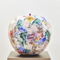 Gulden appel door Ghost Art