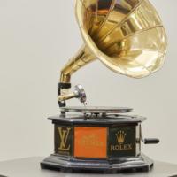 Kunstwerk Grammofoon of design door Angela Gomes